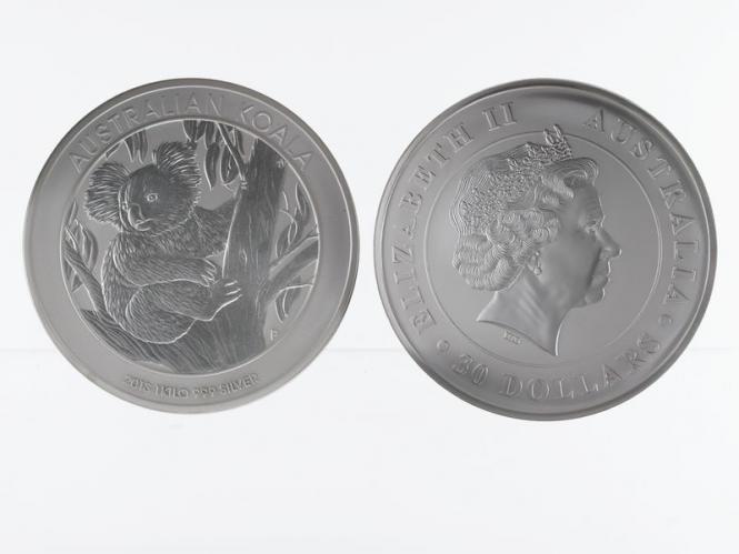 Australien 30$ Koala 2013, 1 Kilo Kg  Silber, Neu