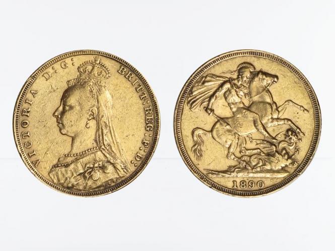 Victoria Jubilee/Reiter 1890