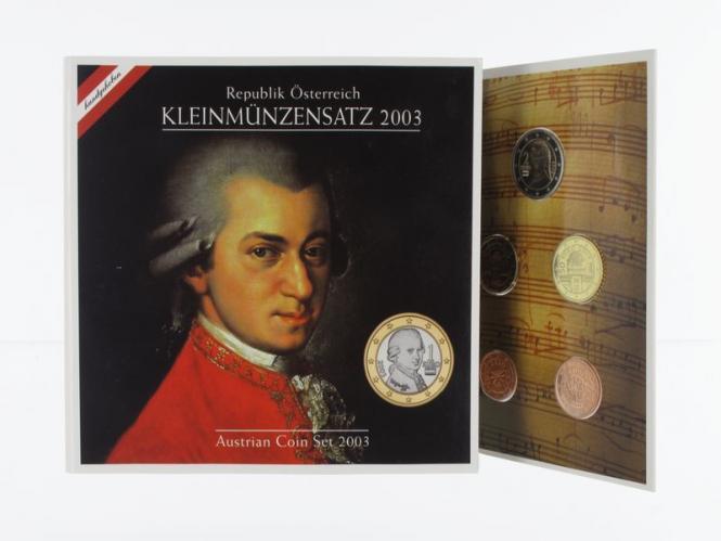 Österreich  KMS, 2003 Stgl., originalsatz