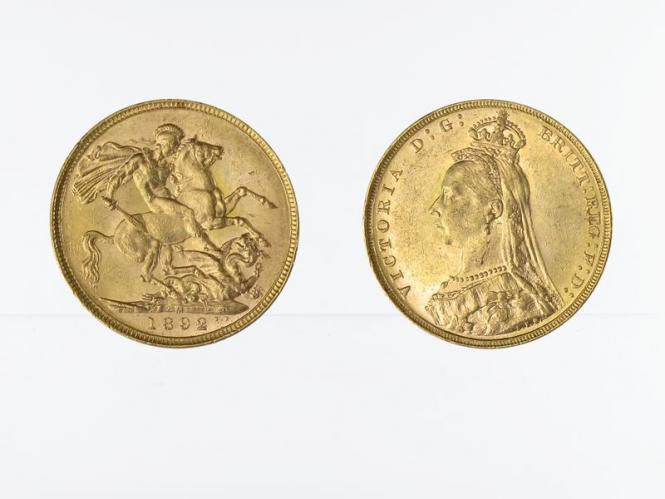 Victoria Jubilee/Reiter 1892 M (Melbourne Australien)