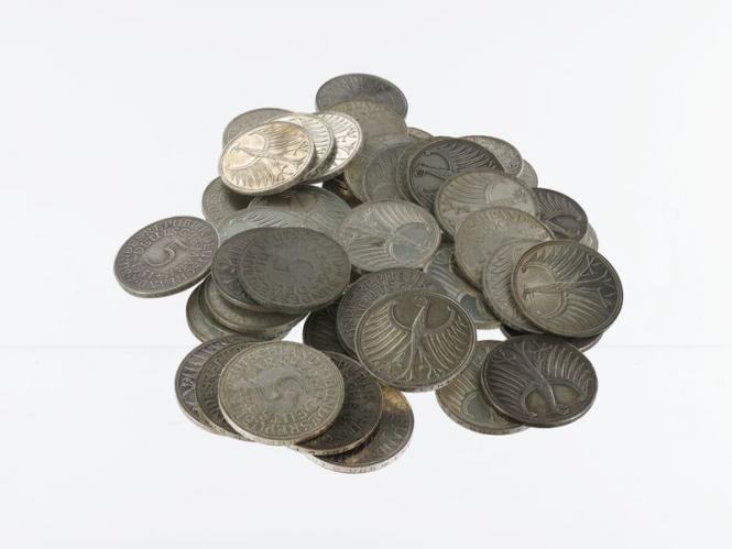 BRD 5 DM Kursmünzen 1951-74 (50)