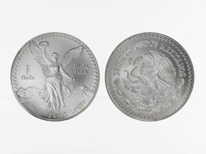 Mexiko Libertad, 1995, 1 OnZa Silber