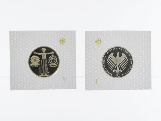 EXPO 2000 10 DM Silber, PP