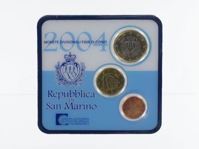 San Marino KMS, 2004 im Minikit, Folder