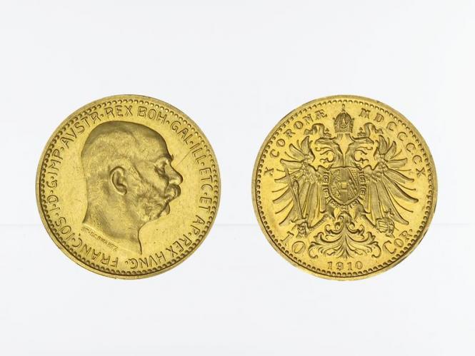 Österreich 10  Kronen 1910 (St. Schwartz)