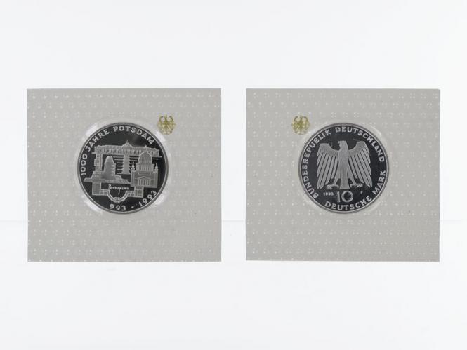 Potsdam 1993, 10 DM Silber, PP