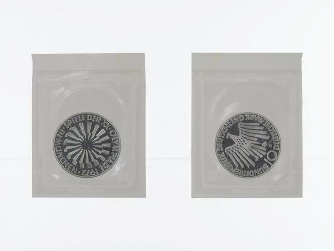 Spirale München 1972, 10 DM Silber, PP