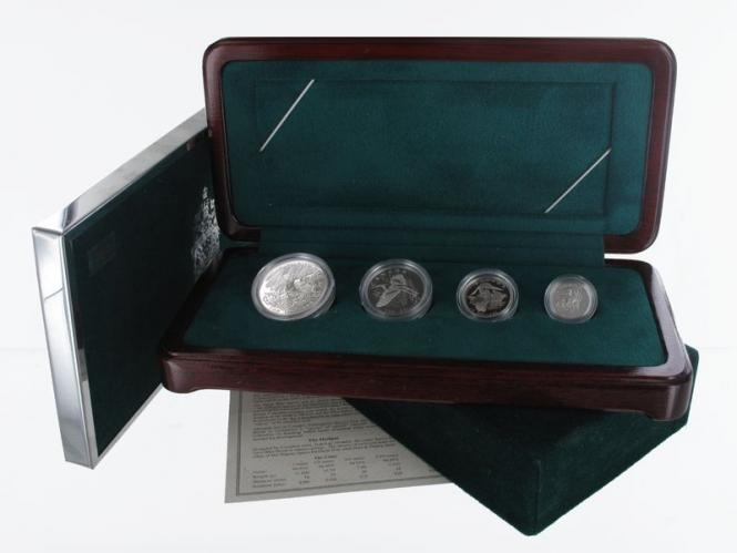 Eistaucher 2002 Jahressatz Platin 4 Werte (B+C), PP