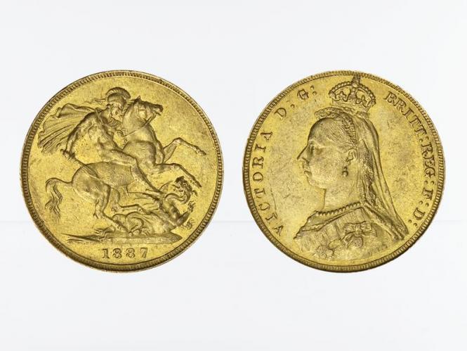 Victoria Jubilee/Reiter 1887