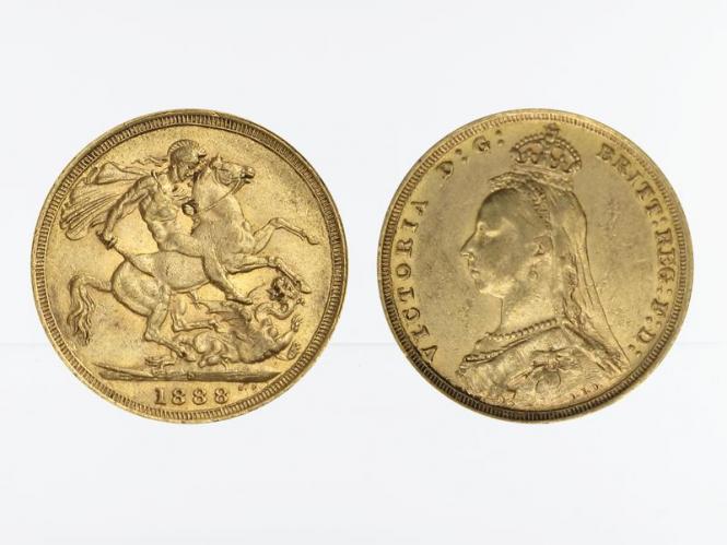 Victoria Jubilee/Reiter 1888 S