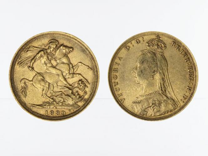Victoria Jubilee/Reiter 1889 S