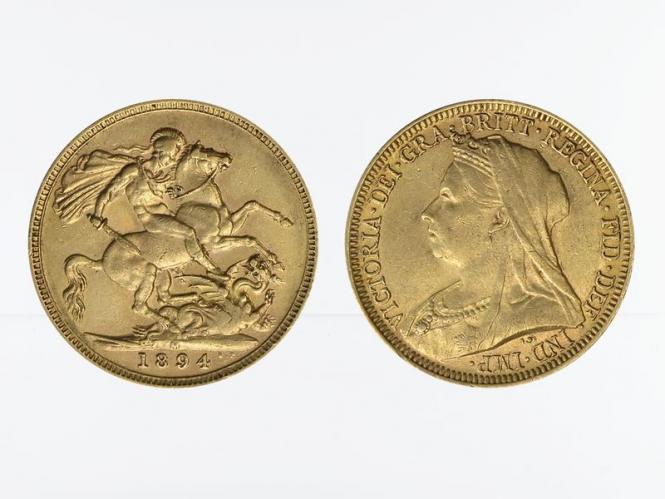 Victoria Old/Reiter  1894 M (Melbourne Australien)