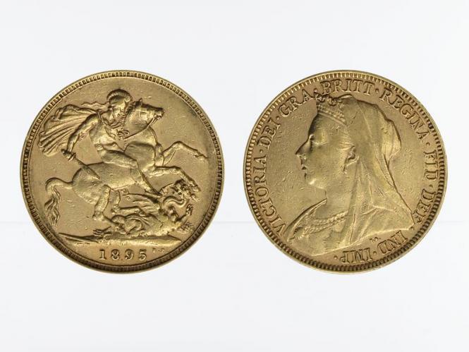 Victoria Old/Reiter  1895 M (Melbourne Australien)