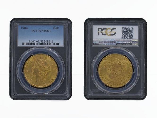 USA 20 Dollars Gold Eagle/Kopf 1904 S