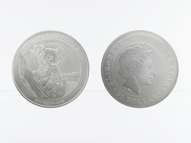 Australien 30$ Koala 2015, 1 Kilo Kg  Silber
