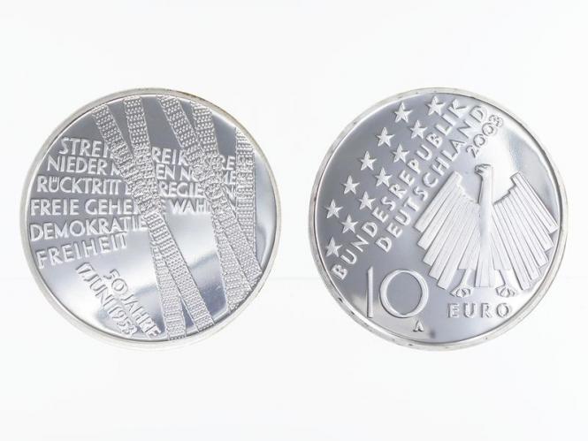 50 Jahre 17. Juni 1953 10 € Silber, PP