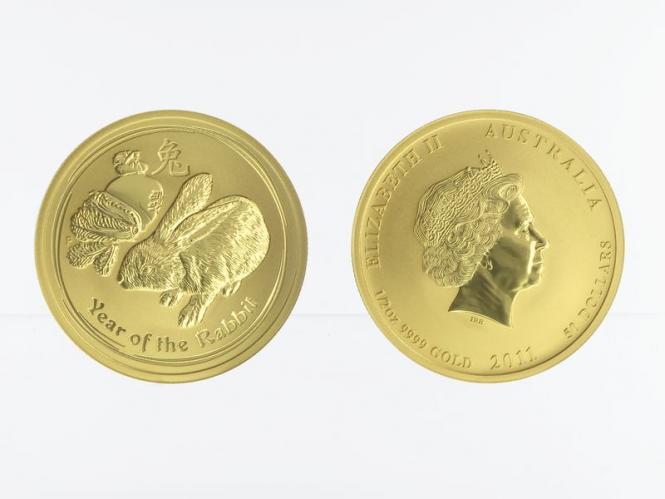 Australien 50 $ Lunar II Hase, 1/2 Unze 2011