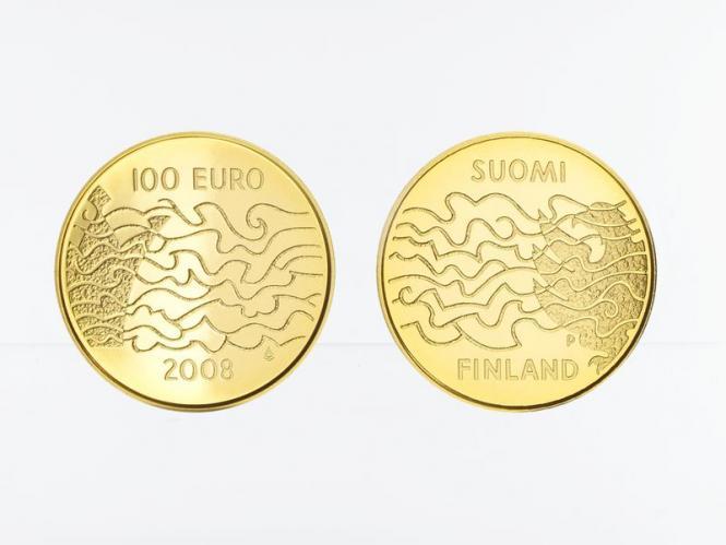 Finnland 100 Euro Gold, 2008, Autonomie, original