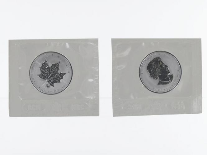 Kanada 5$ Maple Leaf 2004, Privy Mark Krebs