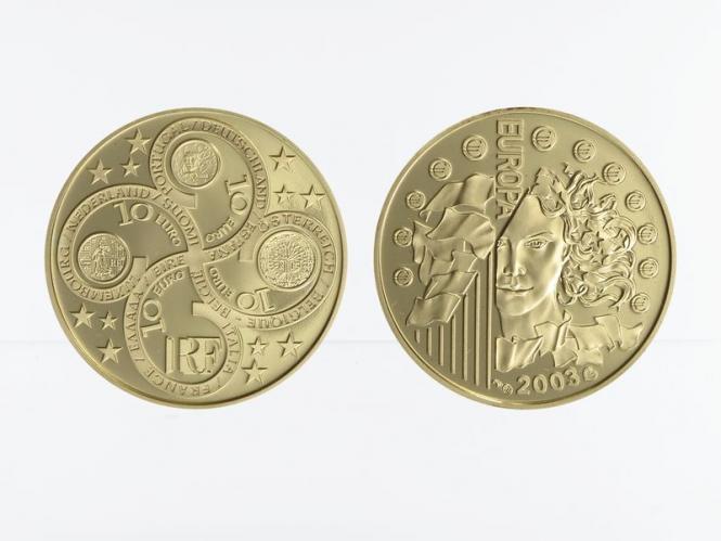 Frankreich 10 Euro Gold, 2003,  Europa