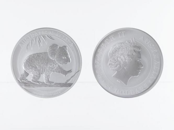 Australien 30$ Koala 2016, 1 Kilo Kg  Silber