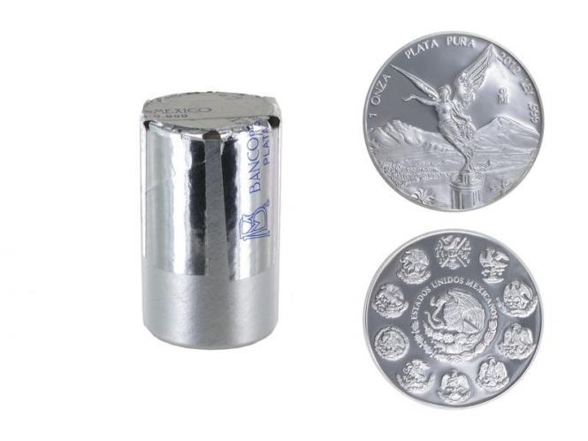 Mexiko Libertad 2012, Tube 20x 1 oz Silber