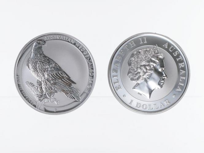 Australien 1$ Wedge Tailed Eagle 2016