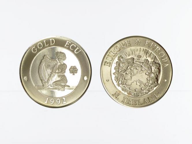 N. Irland Gold ECU Europa 1992