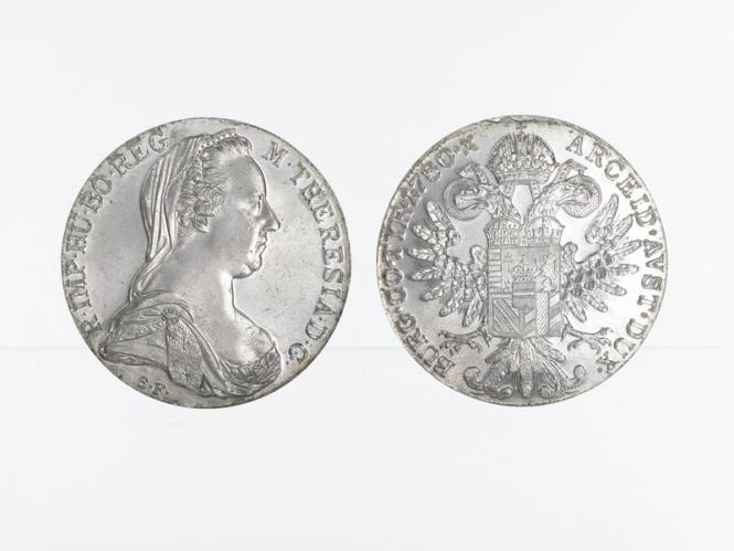 LAGER ------Österreich Maria Theresia Taler 1780 (NP)
