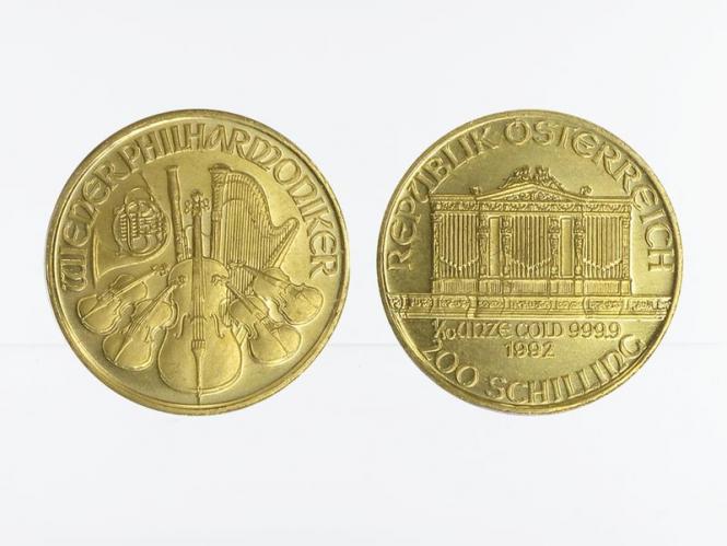 Österreich 200 Schilling 1/10 oz Wiener Philharmoniker