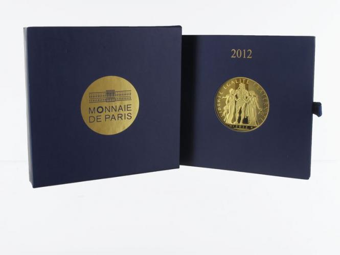 Frankreich 1000 Euro Gold, 2012, Hercules