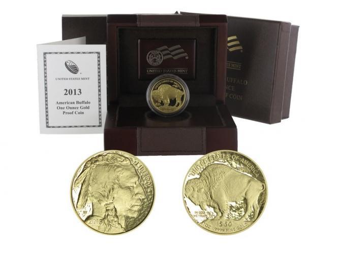 USA 50 Dollars 1 oz American Buffalo 2013 proof