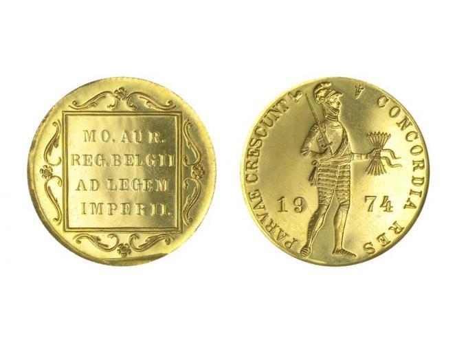 Niederlande 1 Golddukat 1974