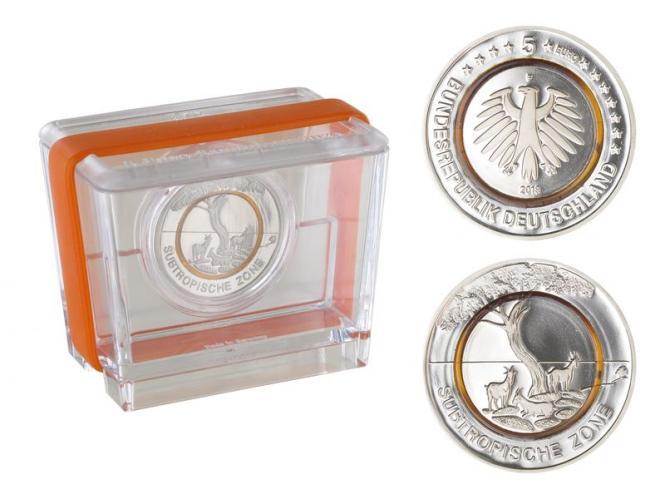 5 € Subtropische Zone F, PP Box
