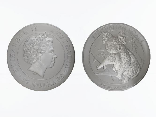 Australien 30$ Koala 2018, 1 Kilo Kg  Silber