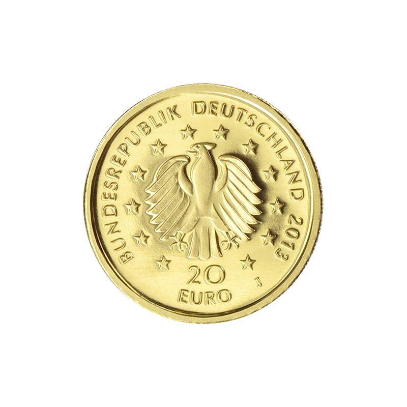 Lohmann Münzen Barren Brd 20 Euro Gold 2013 Kiefer Ohne
