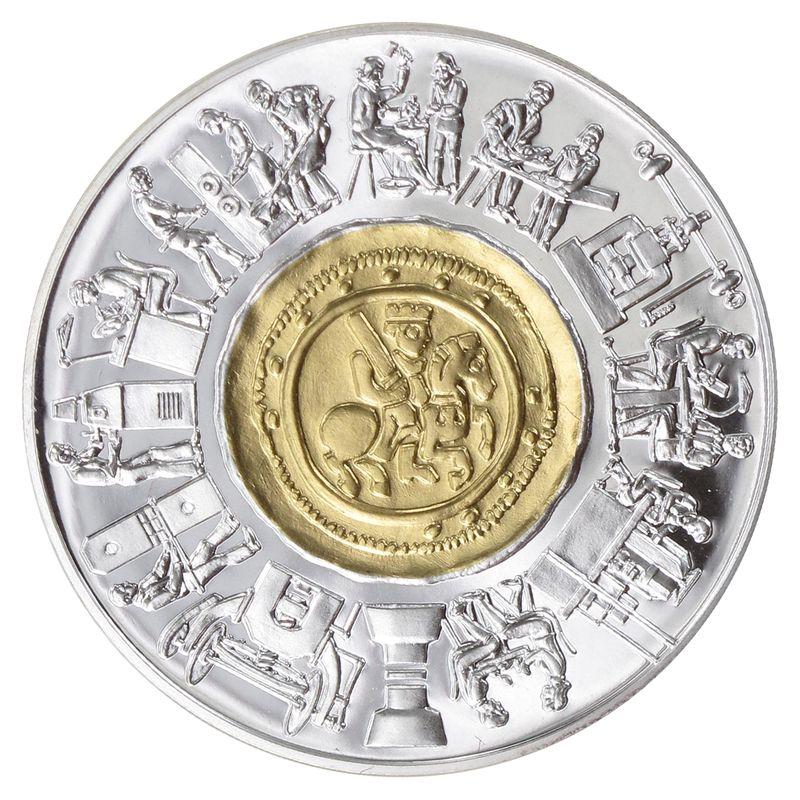 Lohmann Münzen Barren österreich 1000 Sh Gold 1994 800
