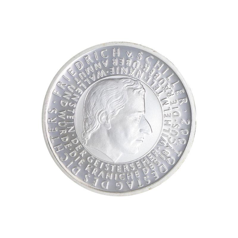 Lohmann Münzen Barren Friedrich Schiller 10 Silber Pp