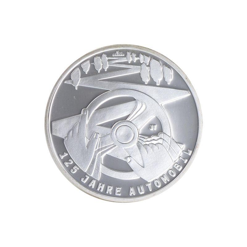 Lohmann Münzen Barren 125 Jahre Automobil 10 Silber 2011 Pp