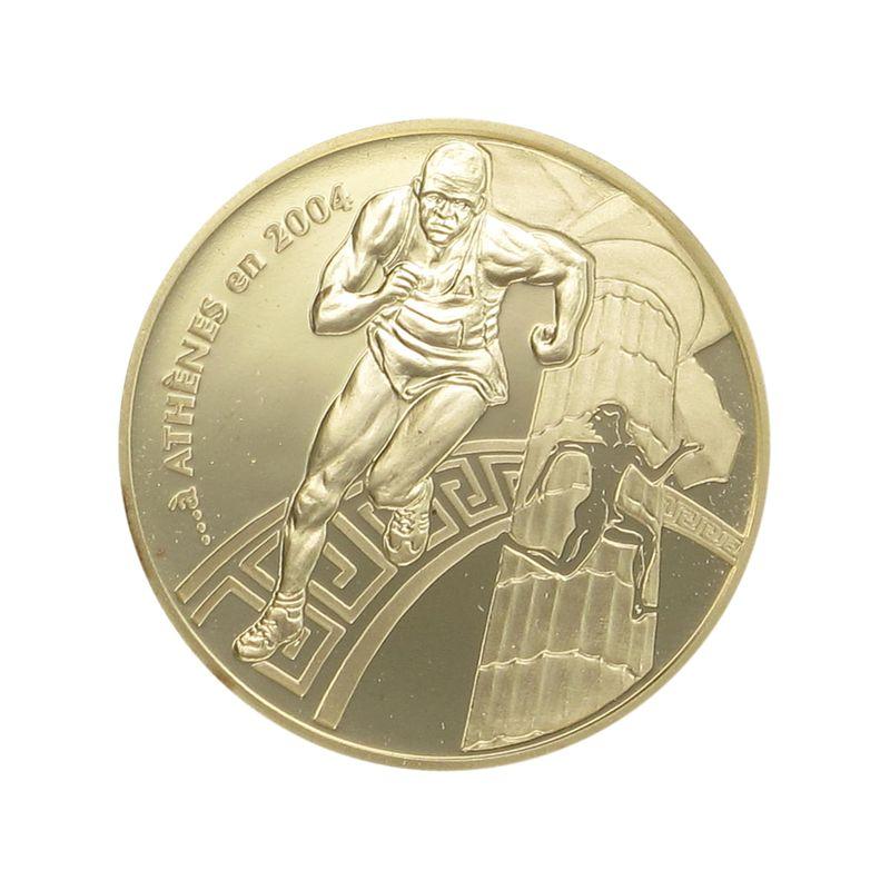 Lohmann Münzen Barren Frankreich 10 Euro Gold 2003 Olympiade