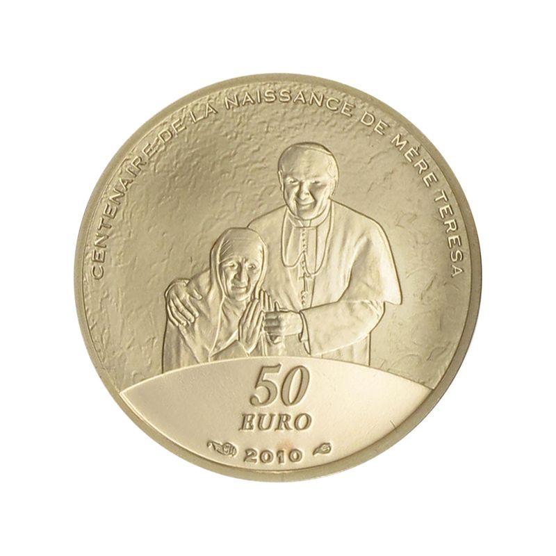 Lohmann Münzen Barren Frankreich 50 Euro Gold 2010 Mutter