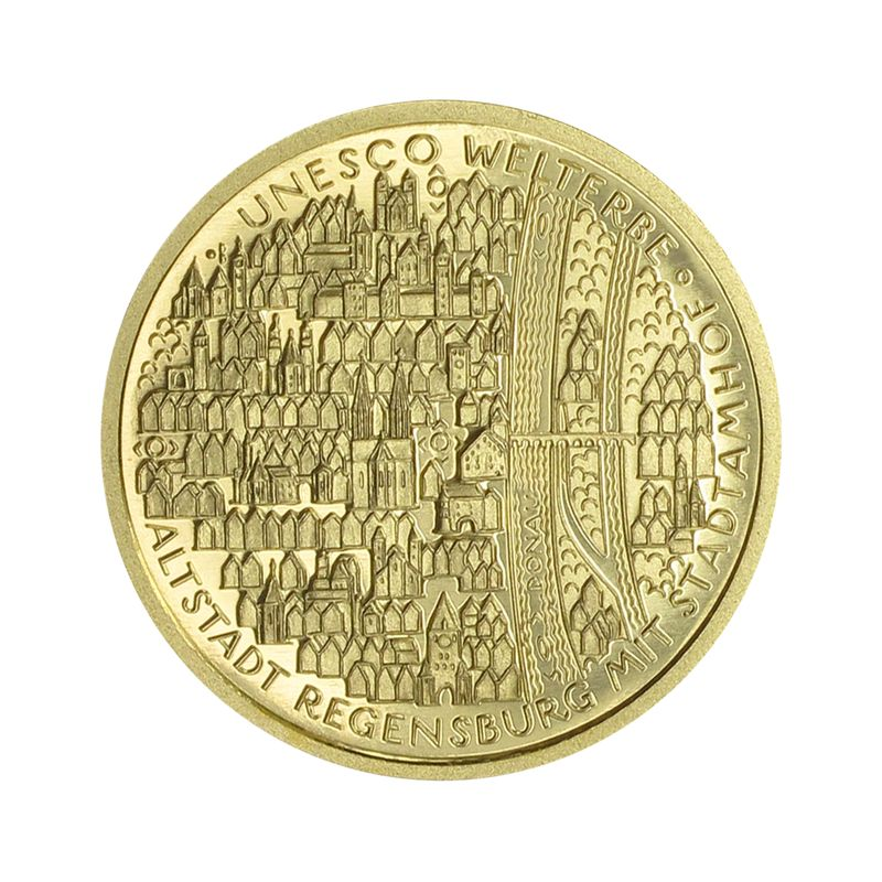 lohmann m nzen barren brd 100 euro gold 2016 d regensburg gold goldbarren goldm nzen. Black Bedroom Furniture Sets. Home Design Ideas