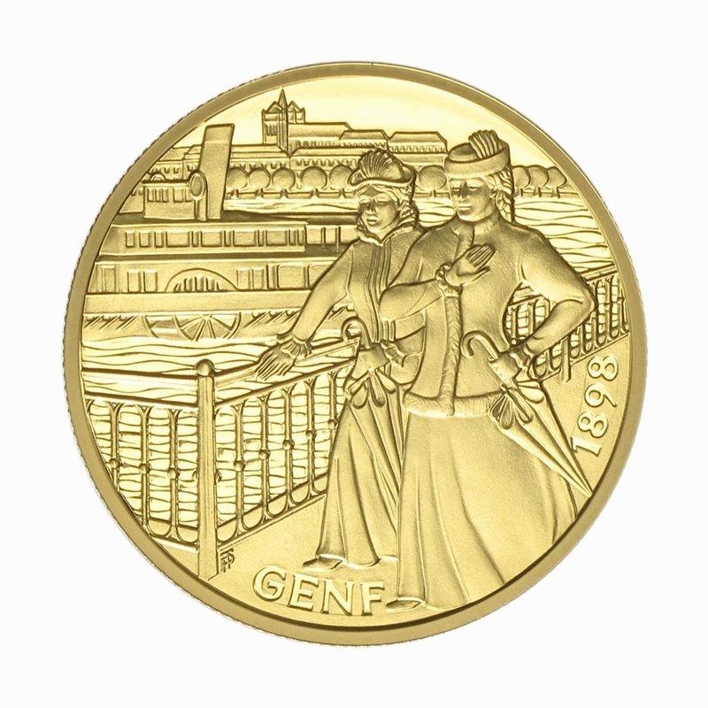 Lohmann Münzen Barren österreich 1000 Sh Gold 1998 Kaiserin