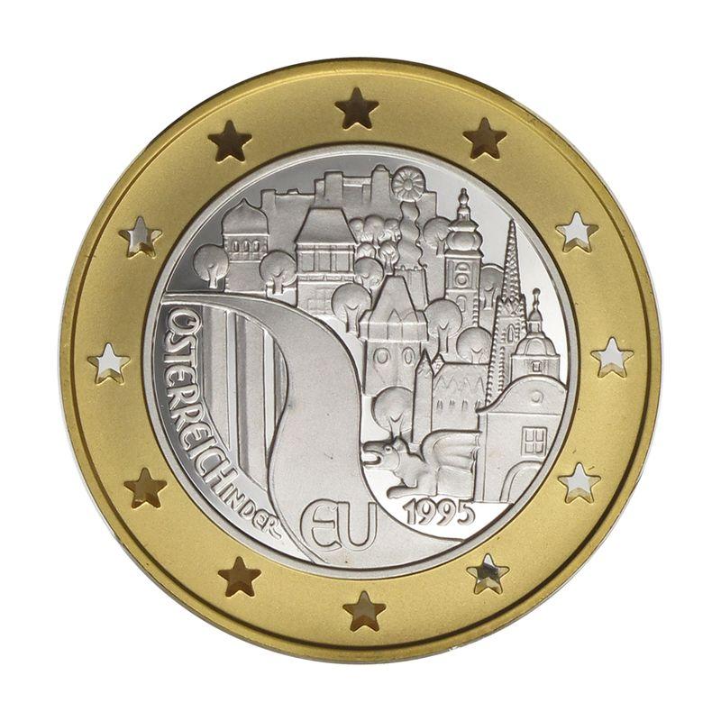 Lohmann Münzen Barren österreich 500 Sh Gold 1995 Eu