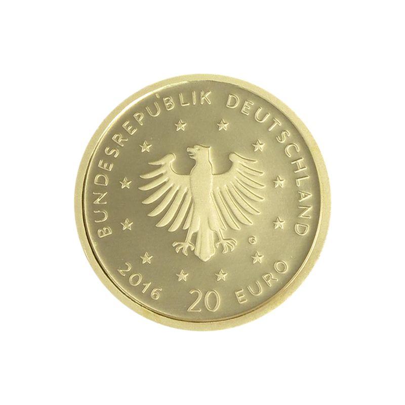 Lohmann Münzen Barren Brd 20 Euro Gold 2016 G Heimische