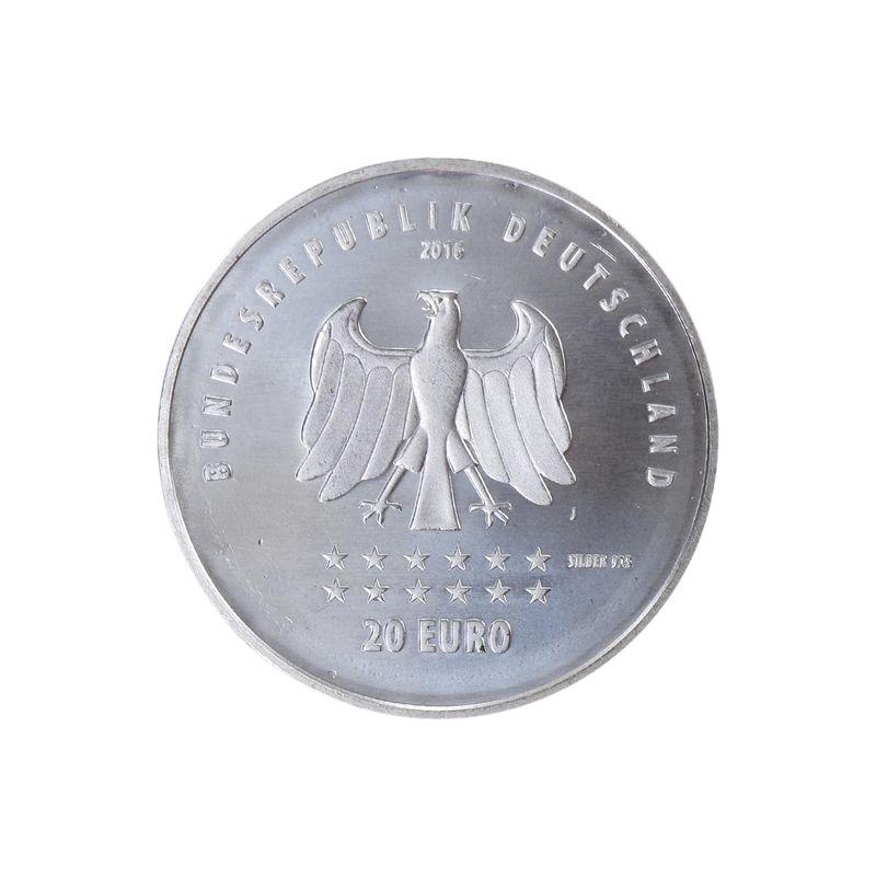 Lohmann Münzen Barren 20 175 Jahre Deutschlandlied Silber
