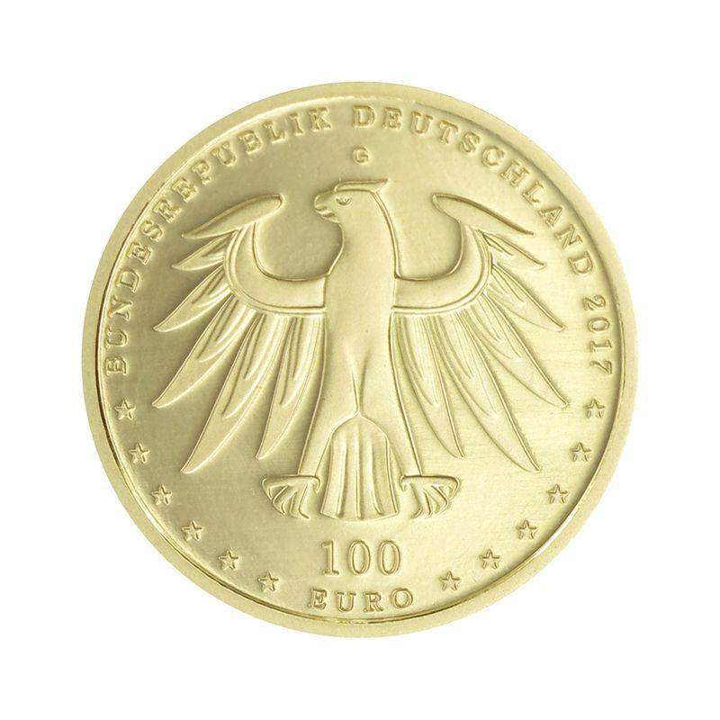 Lohmann Münzen Barren Brd 100 Euro Gold 2017 F Wittenberg